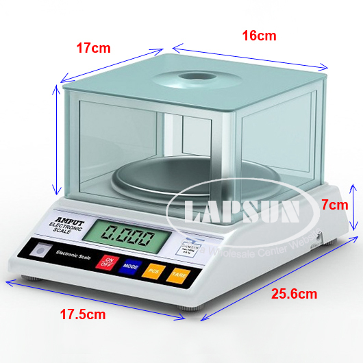 0 01g 600g Big Size Digital Electric Jewelry Gram Gold Gem Coin Lab Bench Balance Weight