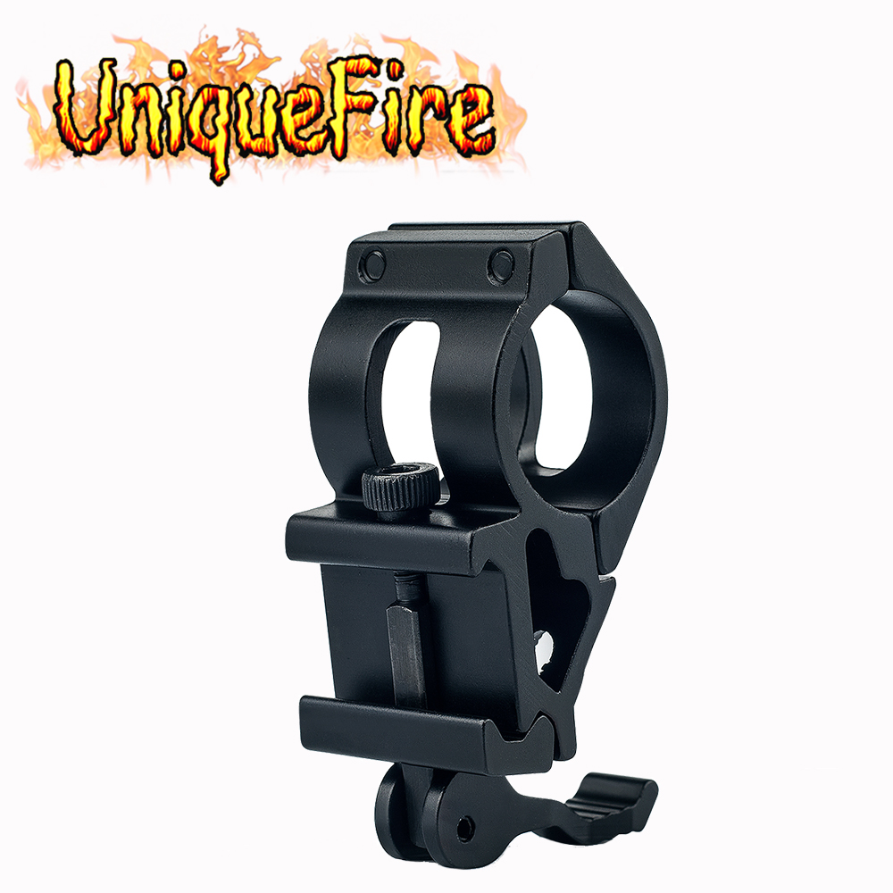 UniqueFire T2008 Airsoft Air Tactical 25,4 mm ficklampa Laser Offsetfäste 20mm Räckvidden monteringsverktyg för