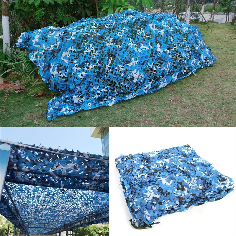 8*9 M filet de Camouflage militaire Camping abri de soleil 150D Polyester Oxford grand auvent abri de soleil bâche Camouflage Net tente touristique