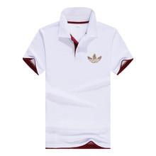 2019 Business Polo Shirt Men A DI Brand Clothing Male Print Polo Shirt Solid Casual Polo Tee Shirt Tops Aeronautica Militare