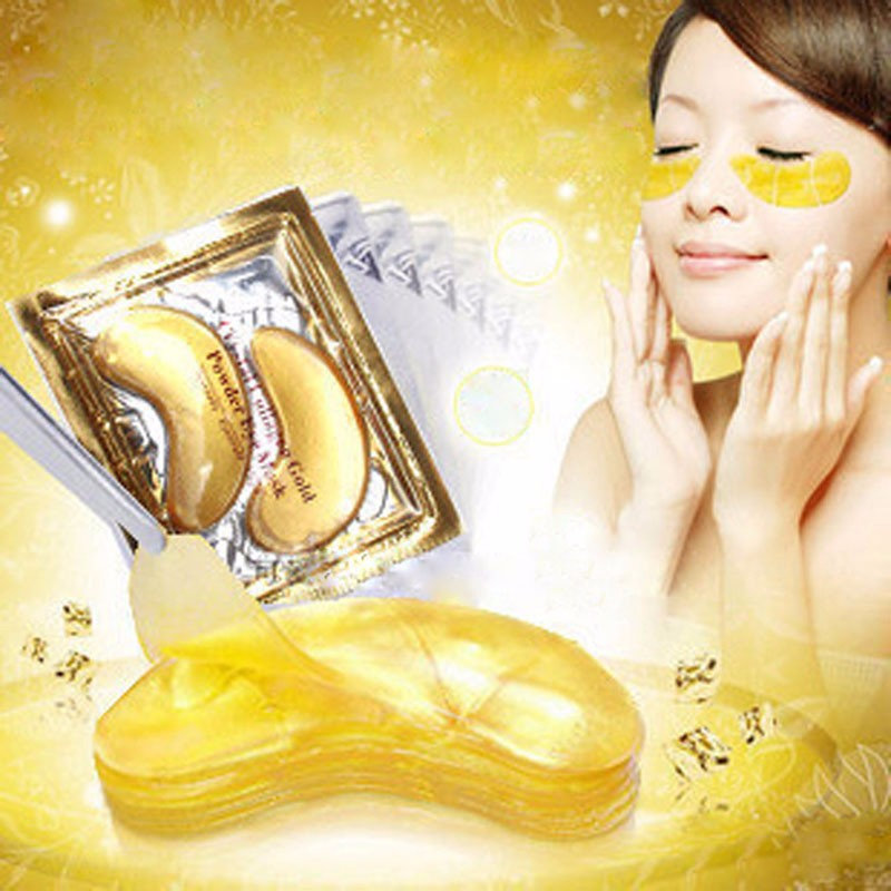 pcs=10packs 17 Gold Crystal Collagen Eye Mask Hotsale Eye Patches For The Eye Anti-Wrinkle Remove Black Eye Face Care 10