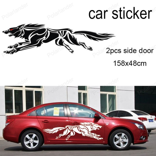 New Design D Wolf Totem Decals Car Stickers Full Body Car Styling - Design decals for cars
