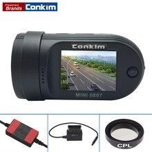 Coche DVR Mini 0807 Cámara DashCam (Actualizado MINI 0805) Amba A7LA50Chip IMX322 + GPS + Aparcamiento Monitor + Dual CardsRecording + OBD-II + CPL