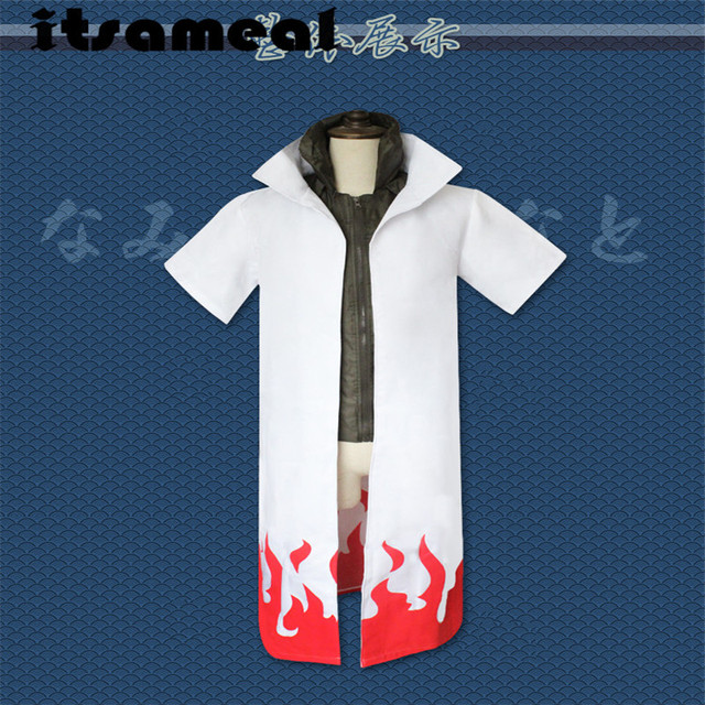 Anime Naruto Cosplay Costumes Fourth Hokage Namikaze ...