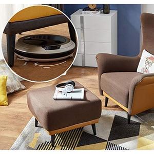 Image 5 - 4 sztuk/zestaw 15/20/25/30CM szafka nogi metalowe okrągły stożkowy nogi DIY meble Sofa stolik przy łóżku szafka na buty nogi na biurku
