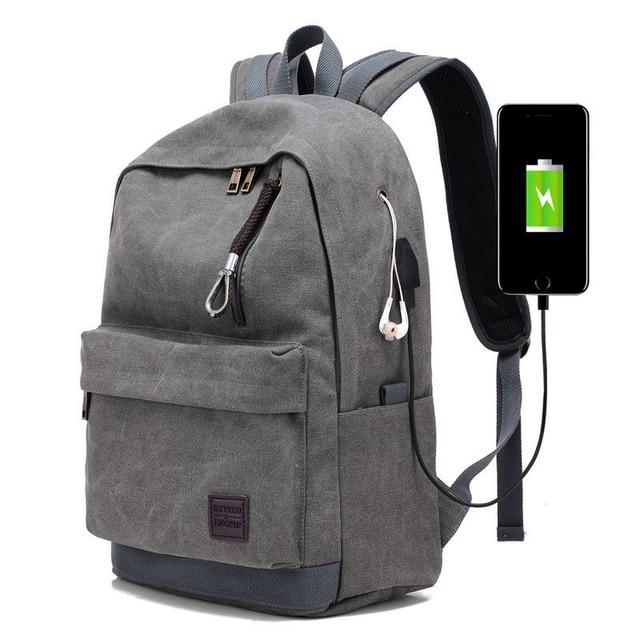 Multi-function USB Charging Backpack Business Laptop Shoulders Bag Pack  Male Leisure Travel Backpack 0706