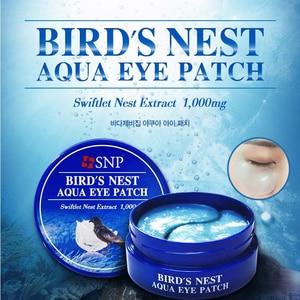 Image 2 - SNP 1000 mg של ציפור קן אקווה העין תיקון 60 תיקוני עם חומצה היאלורונית לחות EGF אנטי הזדקנות תחת עין מסכה