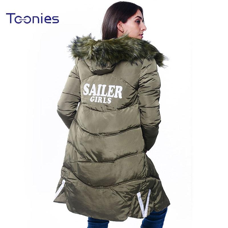 New Arrival Women Warm Long Parka Jacket 2017 Winter Femme Thicken Wool Hooded Padded Coats Feminino Jaqueta Chaqueta Mujer Tops