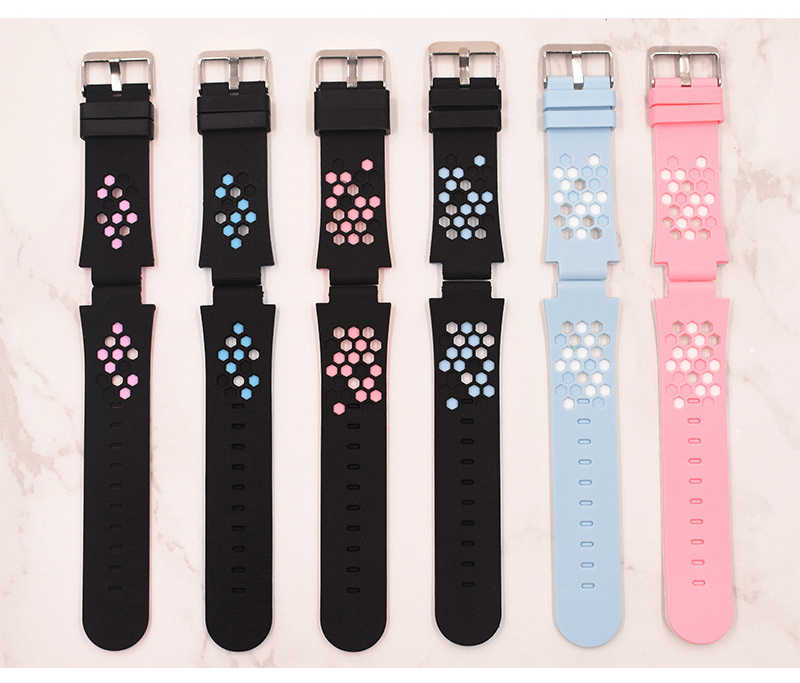 20MM Replace Smart Watch Strap for Q528 T7 Y21 Strap Children's GPS Tracker Watchband Silicone Wrist Belt with Connection