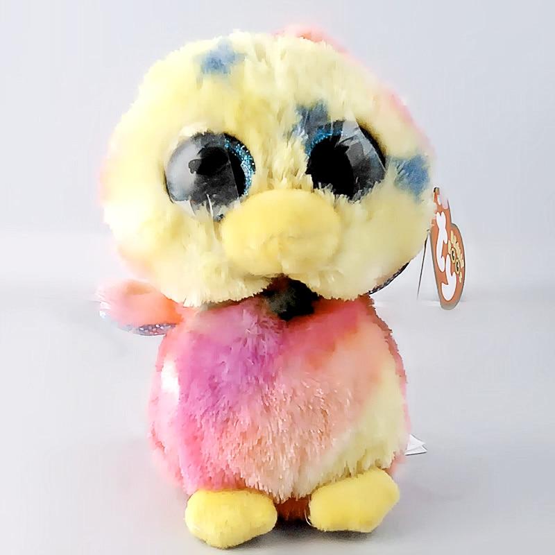 6 15 см Ty Beanie Боос оригинальный большой Средства ухода для век плюшевые игрушки куклы для детей со дня рождения утка ty ребенка для детей пода...