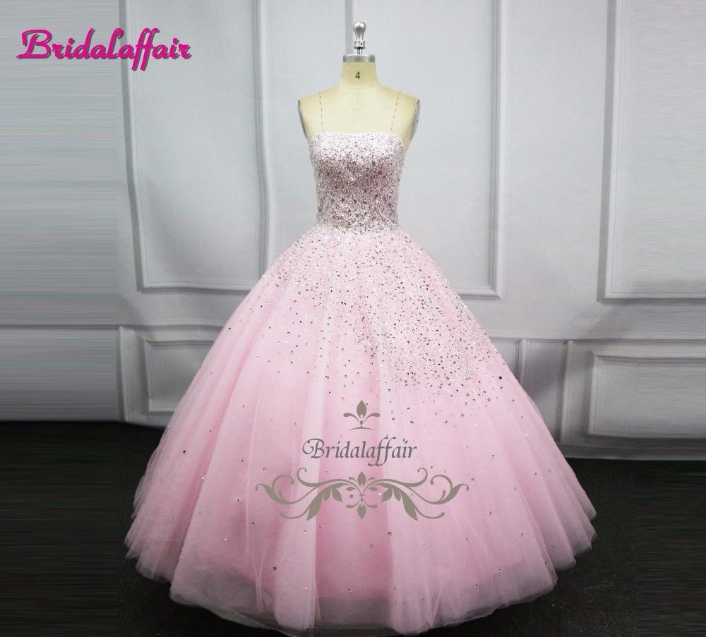 Aliexpress.com : Buy Navy Blue Luxury Beading Big Ball Gown Wedding ...