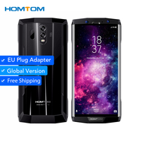 HOMTOM HT70 Octa Core Android 7.0 MT6750T 6.0 Inch 18:9 Display 16MP+5MP Dual Camera Mobile   Phone