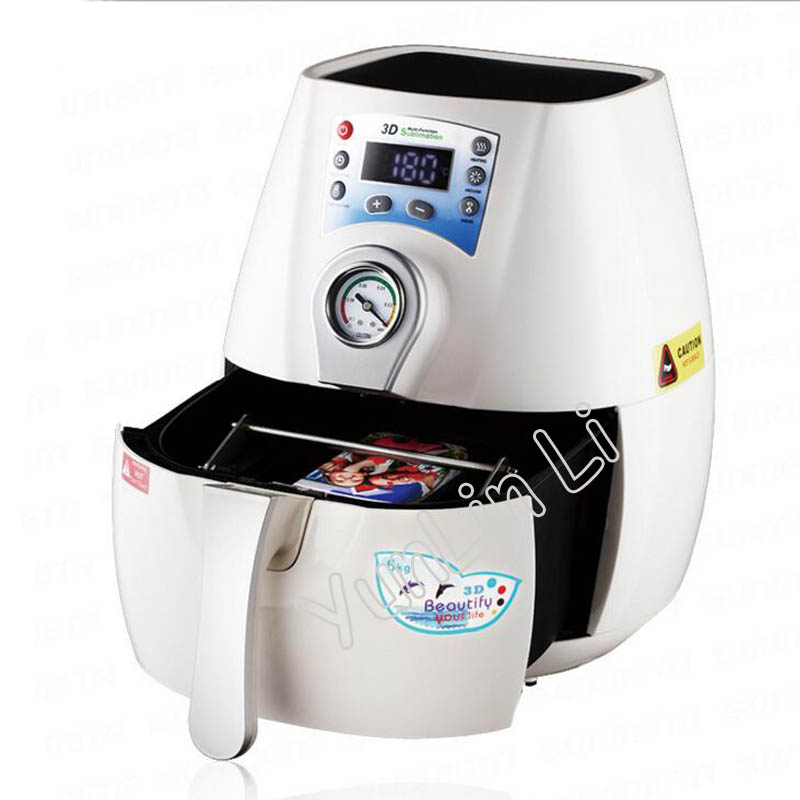 3D Sublimation Machine Vacuum Mug Heat Press Machine Phone Case Printing Machine Mini Vacuum Transfer Machine ST-1520