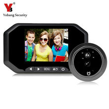 Yobang Security 2 Mega Pixels Motion Detection Video-eye 3.5″ Smart Peephole Door Viewer TFT Video Record Peephole Viewer