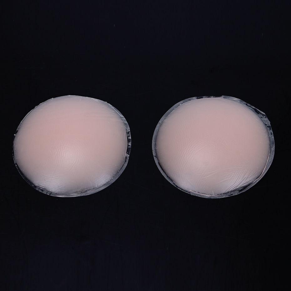 1 Pair Cool Reusable Self Adhesive Silicone Breast Nipple Cover Bra Pad Invisible Breast Petals for Party Dress
