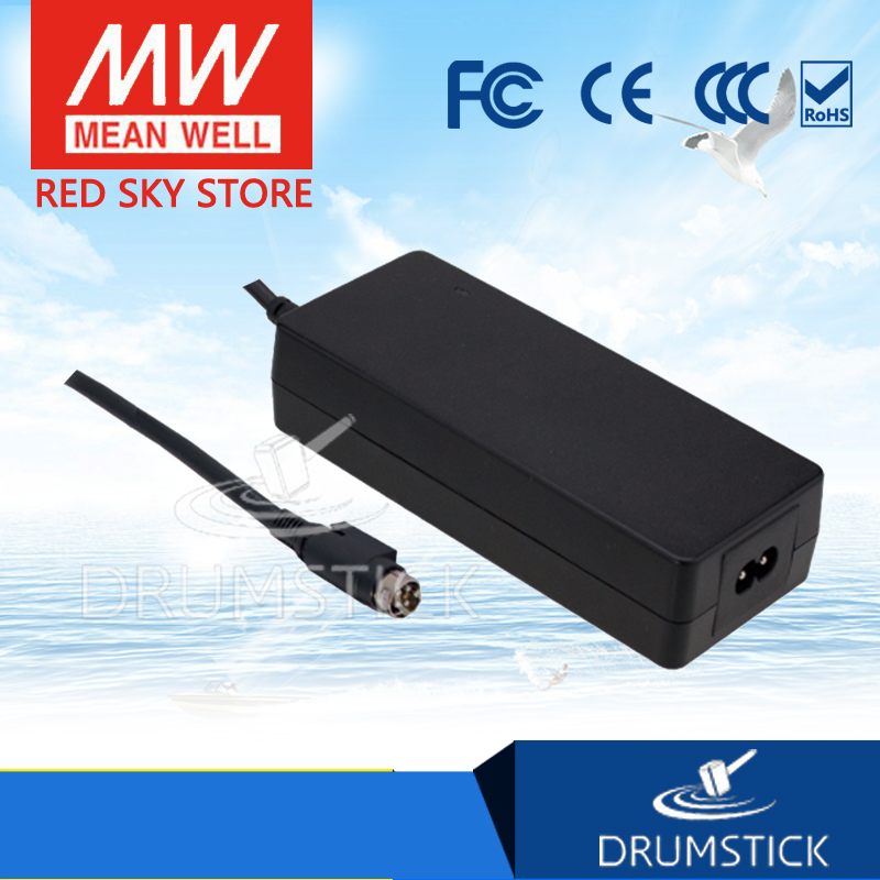 Genuine MEAN WELL GSM120A48-R7B 48V 2.5A meanwell GSM120A 48V 120W AC-DC High Reliability Medical Adaptor 1mean well original gsm160a24 r7b 24v 6 67a meanwell gsm160a 24v 160w ac dc high reliability medical adaptor