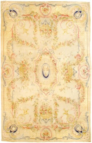 2014 Real New Rugs And Carpets Details About 12 X 18 Oversize Antique Repro Thick Plush French Savonnerie Rug Made To Order