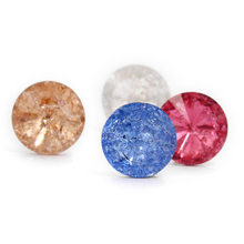 Glass Crystal Ice stone rhinestone Rivoli Accessories for clothing hotfix rhinestones diy/Clothing accessories dec