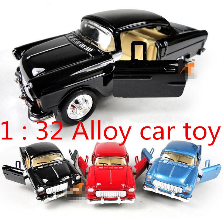 Hot sale ! 1 : 32 Alloy Classic cars pull back model cars toy,2 open ...
