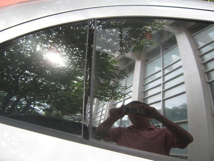 Авто среднего окна планки B C столб Стикеры для Skoda Octavia A5 A7, 6 шт./компл., автомобиль внешней отделки аксессуары