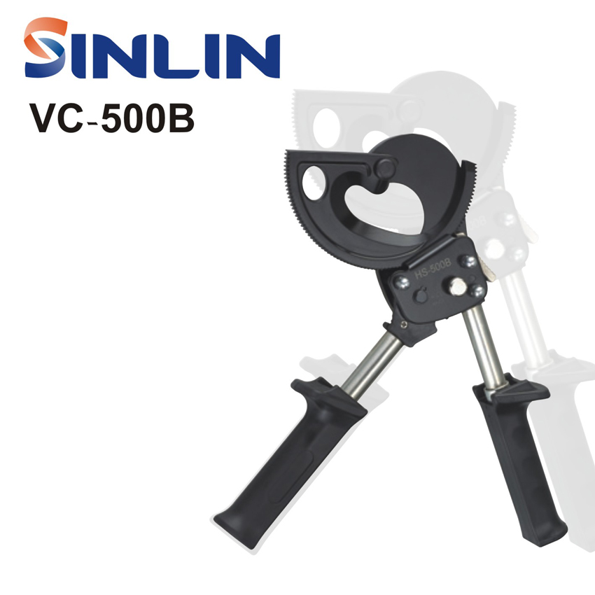 VC-500B RATCHET CABLE CUTTER PLIER Cutting capacity 500mm WIRE CUT TOOLS vc 60a ratchet cable wire cutters cut steel strand wire cutters wire cutters cut wire