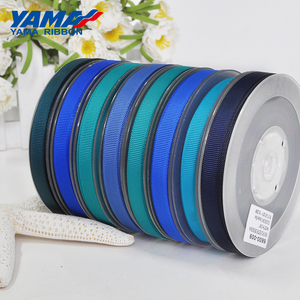 Image 4 - YAMA 50 57 63 75 89 100 mm 100yards/lot Blue Series Wholesale Grosgrain Ribbon for Diy Dress Accessory House Ribbons