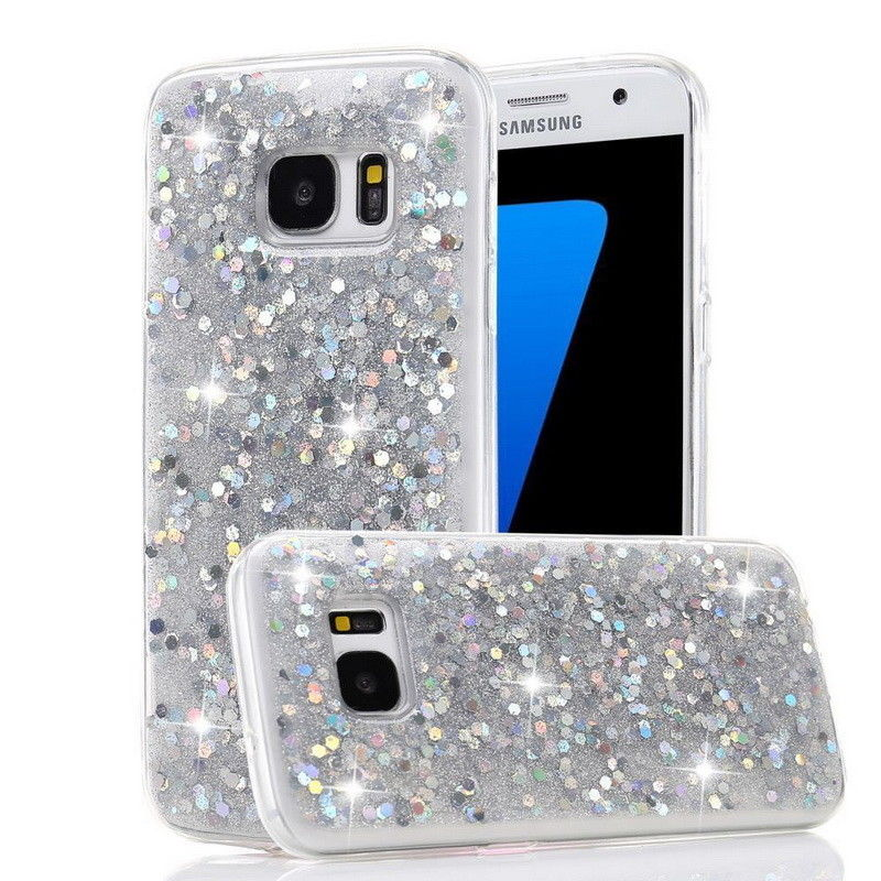 Bling Glitter Soft Case For Samsung Galaxy S10 Plus S10e E S9 S8 S7 Edge Note 9 8 5 A3 A5 A7 J3 J5 J7 Pro 2017 A6 A8 2018 Coque