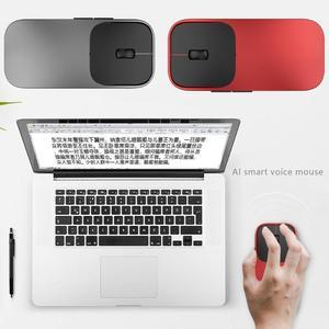AI a Tradução de Voz de Inteligência Artificial 2.4G Mouse Sem Fio 28 Línguas Dual Motor de Busca Para O Windows E Mic
