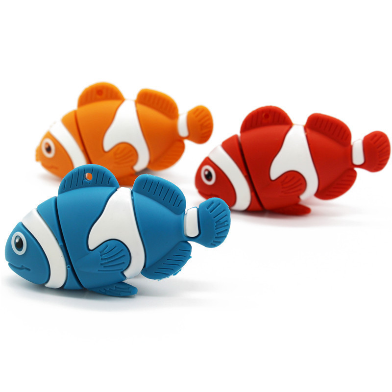 Animal USB Flash Drive Pen Drive Cute Goldfish Memory Stick