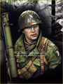 New Unassembled 1/ 10  EASY COMPANY Bastogne 1944 bust    Resin Kit DIY Toys Unpainted kits