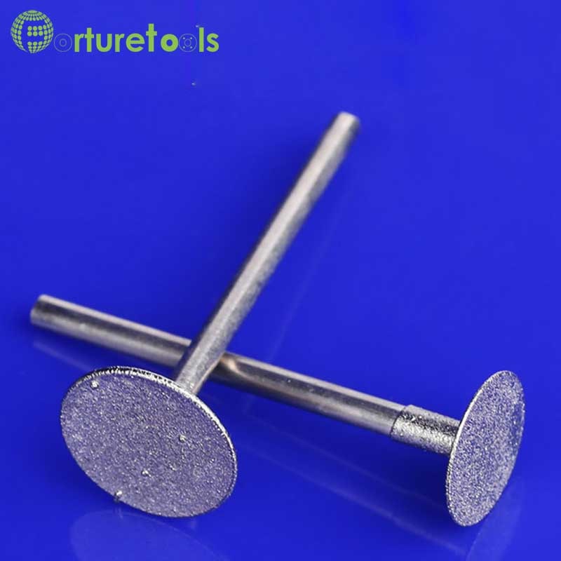 50vnt deimantiniu būdu tvirtinamas dremel rotacinių įrankių - Abrazyviniai įrankiai - Nuotrauka 2