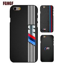 For Slim bmw jacket phone hard plastic case cover For iphone 4 4s 5 5s se