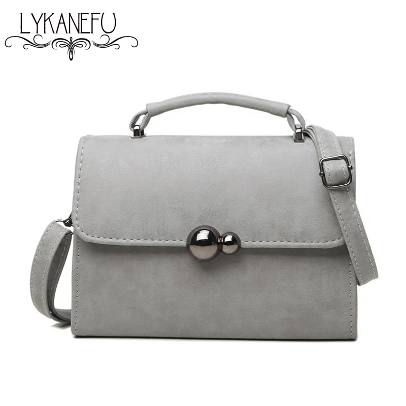 LYKANEFU Brand Women Messenger Bags Small Tote Shoulder Bags with Magnet Lock Handbags Ladies Crossbody Famous Brand Designer women shoulder bags leather handbags shell crossbody bag brand design small single messenger bolsa tote sweet fashion style
