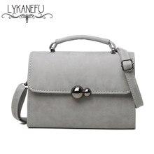 Lykanefu marca mensajero de las mujeres bolsas pequeñas bolsas de mano bolsas de hombro con el imán de bloqueo bolsos de las señoras crossbody famoso diseñador de la marca
