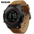 Bozlun mg03 hombres reloj deportivo digital multifunción temperatura la presión de altitud de montaña brújula de pulsera relogio