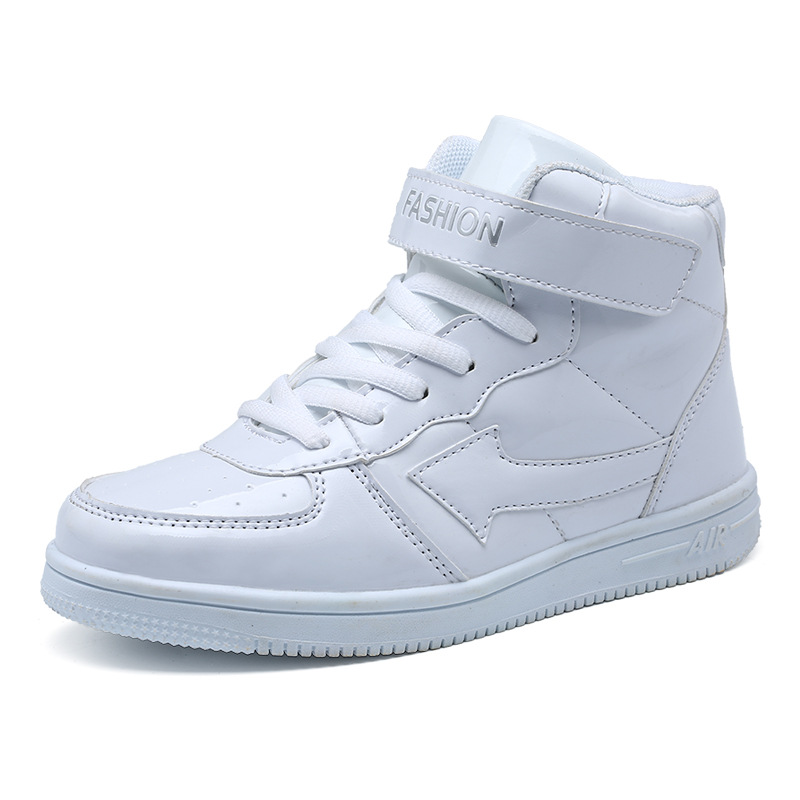 separation shoes hot sales cheapest price US $24.98 |New Pu Boys Boots Children's Basketball Shoes For Youth Running  High Top Sports Shoes Sport Sneakers Kids Blue White Black-in Basketball ...