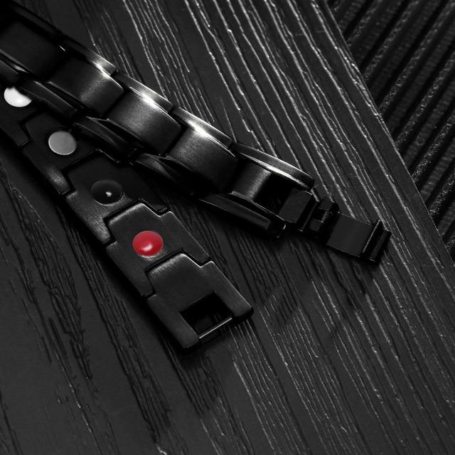 Black Health Germanium Magnetic Bracelet