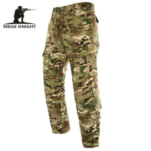 MEGE многоцелевые карманы тактические брюки из рипстопа, городские брюки карго комбинезоны Мужская одежда, повседневные армейские брюки