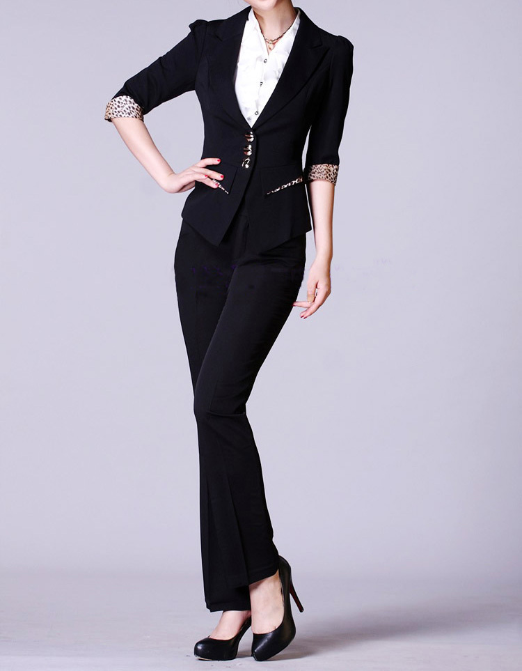 Office Lady The New Business Attire Ladies Suits Female Fashion
