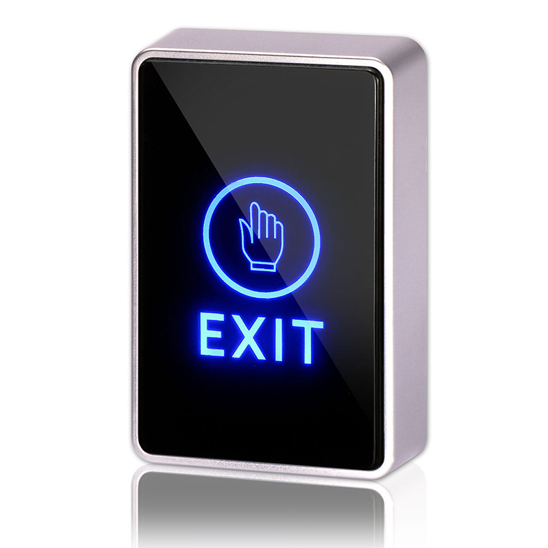 Access Control Aggressive Electronic Door Lock 12 Volt Switch Panel Rfid Led Light Touch Release Exit Button Access Control Access Control Accessories