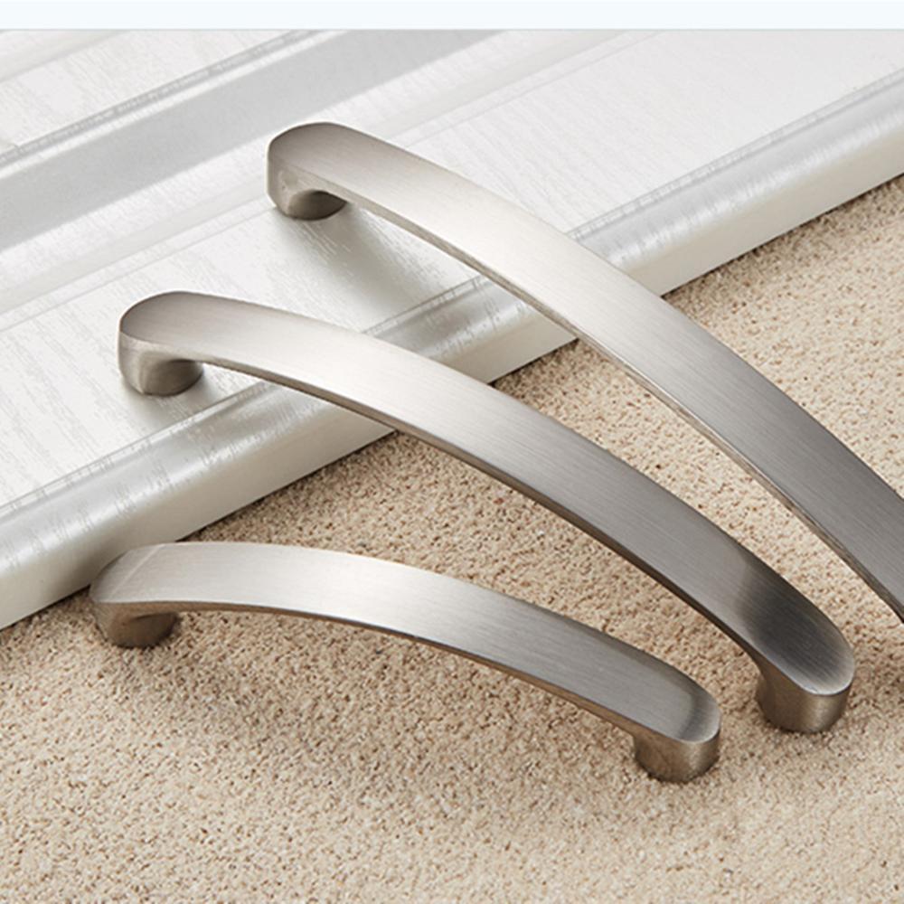 Cabinet Handles Knobs Aluminum Alloy Door Kitchen Knobs ...