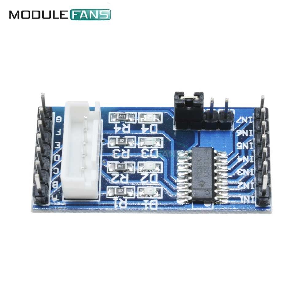 Módulo de controlador de Motor paso a paso ULN2003 para 5V 4 fases 5 línea 28BYJ-48 para Arduino DC 5v 12v Diy Electronic