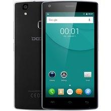 Ursprüngliche DOOGEE X5 MAX Pro Smartphone 5,0 Zoll Android 6.0 MTK6737 Quad Core 1,3 GHz 2G + 16G Fingerabdruck 4000 mAh Handy