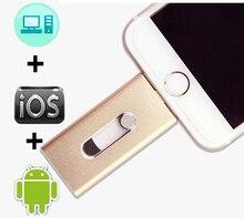 OTG USB флэш-накопитель Usb 3,0 Флешка для iPhone XS MAX/XR/X/8 флэш-накопитель 8 ГБ 16 ГБ 32 ГБ 64 Гб 128 ГБ iOS флэш-накопитель