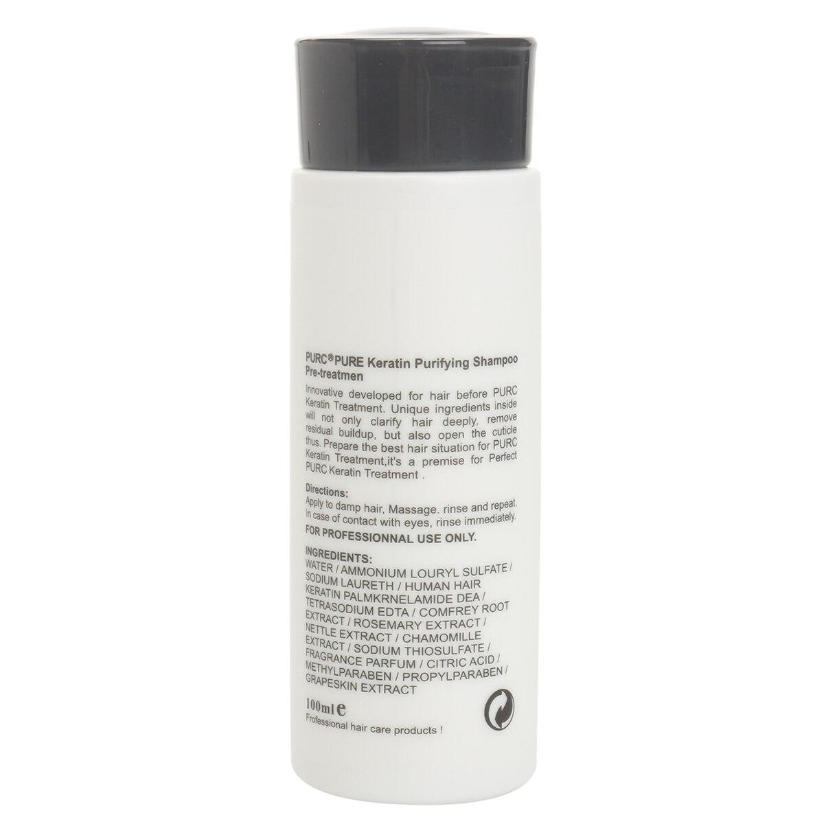 5% Formalin Brasil Perawatan Keratin Pelurus Rambut Dengan 100 ml  Memurnikan Shampoo Perbaikan Kerusakan Produk Perawatan Rambut Set di Rambut    Perawatan ... aa4dd9ca48