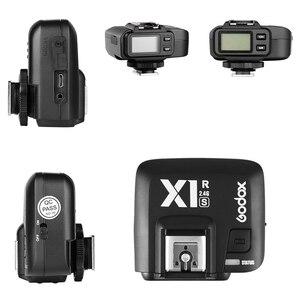 Image 4 - Godox X1R S ttl 2.4g 1/8000 s hss 무선 플래시 수신기 소니 a58 a7rii a7ii a99 a7r a6300 X1T S xpro s 트리거 송신기