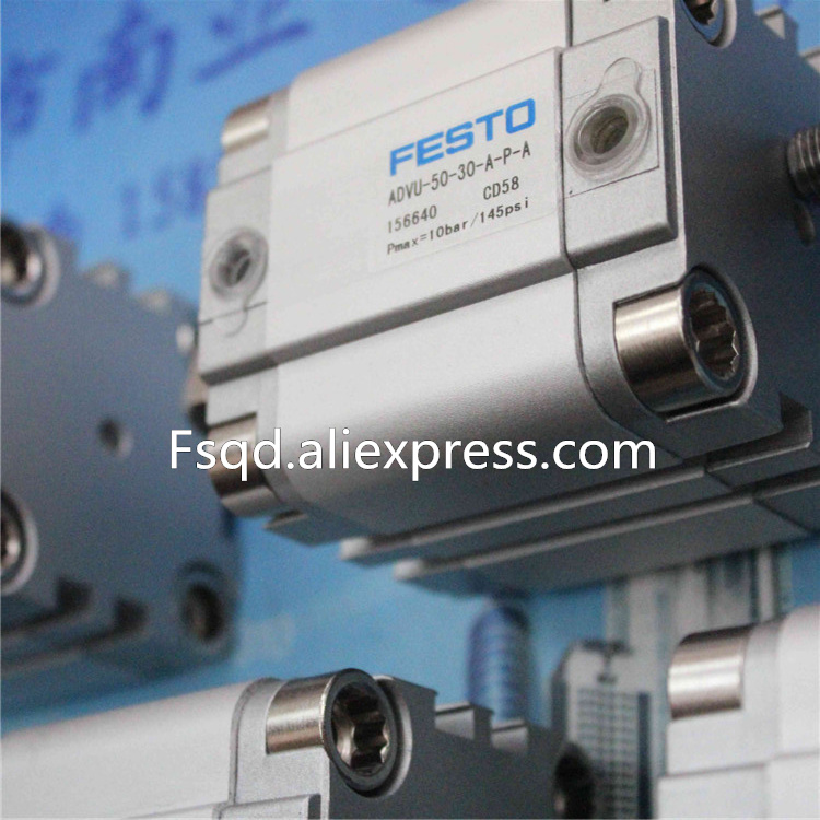 ADVU-50-30-A-P-A FESTO Thin type cylinder air cylinder pneumatic component air tools advul 16 20 p a festo thin type cylinder with air cushion air cylinder pneumatic component air tools