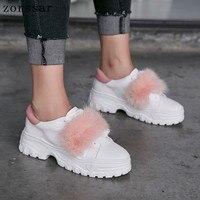 Новые 2019 летние Повседневное Для женщин Сникеры с сеткой дышащая обувь без каблука повседневная обувь на платформе женские кроссовки белый