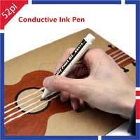 52Pi Magic DIY Conductive Ink Pen Electronic Draw Circuits Instantly Magical Pen For Maker Education Student