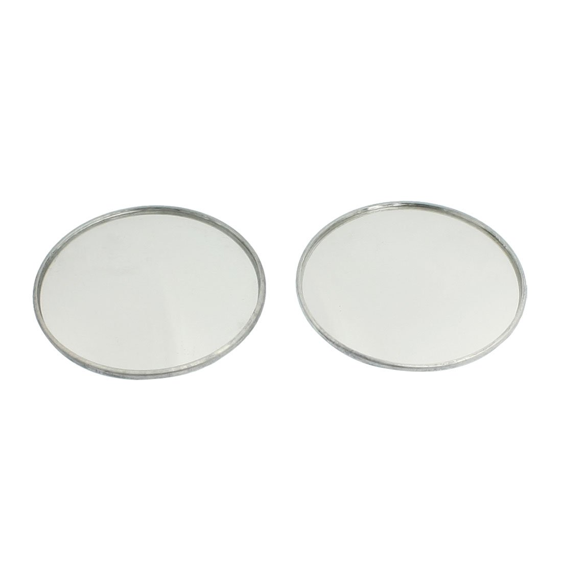 Promotion 2 x 1 9 Dia Round Metal Casing Convex font b Car b font Side